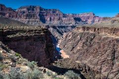 AZ-Grand Canyon National Park-Tonto Trail west to Monument Royalty Free Stock Photo