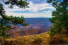 AZ-Grand Canyon- North Rim Stock Photography