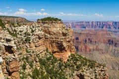 AZ-Grand Canyon-North Rim-Cape Royal viewpoints Royalty Free Stock Photography