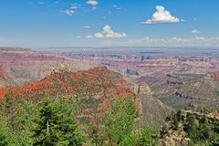 AZ-Grand Canyon-North Rim-near Point Imperial Stock Photo