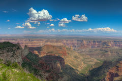AZ-Grand Canyon-North Rim-Point Imperial area. Royalty Free Stock Images