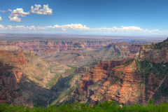 AZ-Grand Canyon-North Rim-Point Imperial area. Stock Photos
