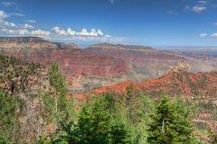 AZ-Grand Canyon-North Rim-Vista Encantata area. Stock Image