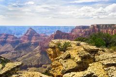 AZ-Grand Canyon-North Rim-Widforss Trail. This is one of the many spectacular found along the Widforss Trail on the North Rim of the Grand Canyon Stock Photos