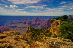 AZ-Grand Canyon NP- North Rim. North Rim of the Grand Canyon during a hike on the Widforss Trail Royalty Free Stock Image