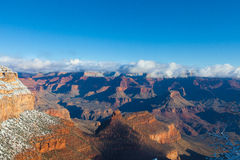 AZ-Grand Canyon-S Rim-near the Bright Angel Lodge Royalty Free Stock Photos