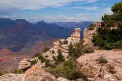 AZ-Grand Canyon-S. Rim-near PimaPt- W Rim Drive Royalty Free Stock Images