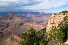 AZ-Grand Canyon--S. Rim-Pima Point Stock Images