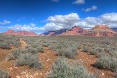 AZ-Grand Canyon-S Rim-Tonto Trail West Stock Photos