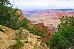AZ-Grand Canyon-S Rim-W Rim Trail Royalty Free Stock Images