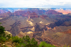 AZ-Grand Canyon-S Rim- West Rim Trail. This is a view near Pima Point along the West Rim Trail Royalty Free Stock Photography