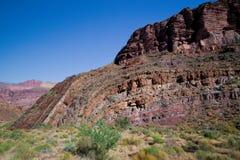 AZ-Grand Canyon-South Rim-South Bass Trail Royalty Free Stock Photos