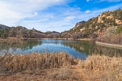 AZ-Granite Basin Lake Royalty Free Stock Photos