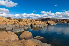 AZ-Granite Dells-Watson Lake Royalty Free Stock Images