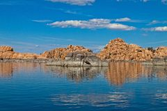 AZ-Granite Dells-Watson Lake Stock Photos
