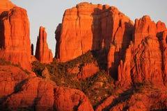 az katedry skały sedony Fotografia Royalty Free