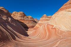 AZ-N. Coyotte Buttes-The Wave Stock Images