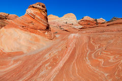 AZ-N. Coyotte Buttes-The Wave Royalty Free Stock Image