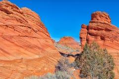 AZ-Paria Canyon-Vermillion Cliffs Wilderness-Pawhole Stock Photos