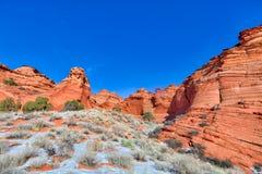 AZ-Paria Canyon-Vermillion Cliffs Wilderness-Pawhole Stock Images
