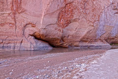 AZ-Paria Kanjon-Vermillion klippor Wildernessss Fotografering för Bildbyråer