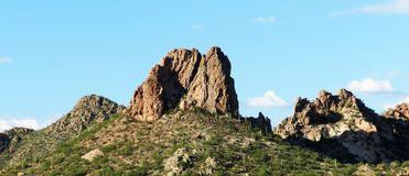AZ Peak Tucson Stock Photo
