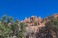 AZ-Prescott-The Dells. This image was captured in the heart of the Dells on a spectacularly clear Arizona day Royalty Free Stock Photos