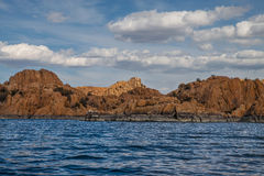 AZ-Prescott-granit Dells-Watson sjö Arkivbild