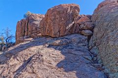 AZ-Prescott, Granite Dells Royalty Free Stock Photography