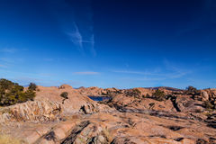 AZ-Prescott-Granite Dells-Willow Lake stock photography