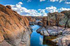 AZ-Prescott-Watson Lake Dells Royalty Free Stock Images