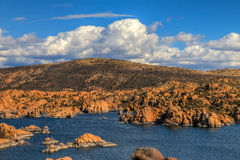 AZ-Prescott-Watson Lake Dells stock photography