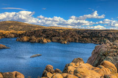 AZ-Prescott-Watson Lake Dells royalty free stock photos
