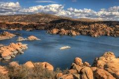 AZ-Prescott-Watson Lake Dells Stock Image
