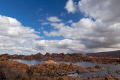 AZ-Prescott-Watson Lake-Granite Dells Stock Images