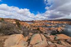 AZ-Prescott-Watson Lake-Granite Dells stock photo