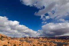 AZ-Prescott-Watson Lake-Granite Dells Royalty Free Stock Images