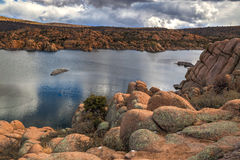 AZ-Prescott-Watson Lake-Granite Dells Royalty Free Stock Photos