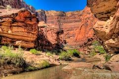 AZ- région sauvage de gorge de Paria Image stock