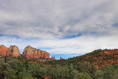 AZ-Sedona-Coconino National Forest-Soldier's Pass Trail. This trail is one of the most popular and highly scenic trails in the Sedona area Royalty Free Stock Photo