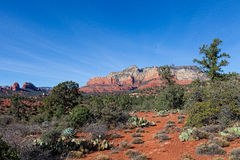 AZ-Sedona-Jim Thompson Trail Royalty Free Stock Images