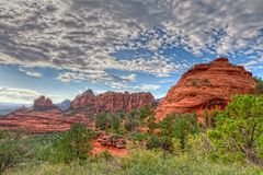 AZ-Sedona-Scnebly Hill Rd. Royalty Free Stock Photo