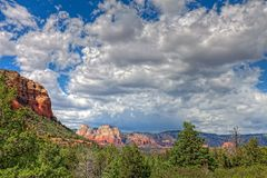 AZ-Sedona-Soldier Pass Trail. This image was captured on Soldier Pass Trail in Sedona, AZ Royalty Free Stock Images