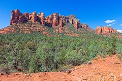 AZ-Sedona-Soldier Pass Trail. This image was captured on the Soldier Pass Trail in Sedona, AZ Stock Image