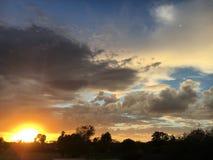 AZ-Sonnenuntergang 1 Stockfotografie