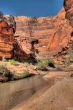 AZ-UT-Paria Canyon-Vermillion Cliffs Wilderness-Paria River Canyon Stock Photos