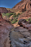 AZ-UT-Paria Canyon-Vermillion Cliffs Wilderness-Paria River Canyon Royalty Free Stock Images