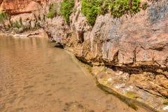 AZ-UT-Paria Canyon-Vermillion Cliffs Wilderness-Paria River Canyon Stock Image