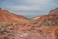 AZ-UT-Paria Canyon-Vermillion Cliffs Wilderness-Paria River Canyon Royalty Free Stock Photo