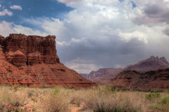 AZ-UT-Paria Canyon-Vermillion Cliffs Wilderness-Paria River Canyon Royalty Free Stock Photography
